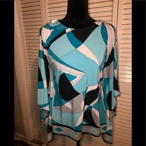 Michael Kors cold shoulder blouse